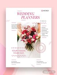 Flyers Formats 19 Wedding Planner Flyer Designs Templates Psd Ai