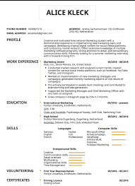 Summer Internship Resume Examples These 7 Student Resume Samples Can Help You Get A Better