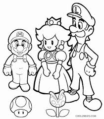 Coloring Pages Mario Mario And Luigi Printable Coloring Pages Powerdreamteam Info