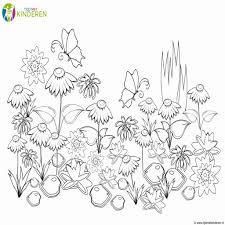 Kleurplaat Bloemen Elegant Bloemen Kleurplaten Fris Kleurplaten