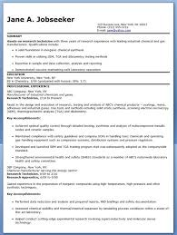 Impress Resume Sample Best Of Research Technician Resume Examples Experienced Creative Resume