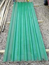3m green corrugated metal roofing sheets plastic coated plastisol job lot 12