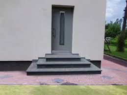 Treppe mit podest selber bauen. Treppe Aussen Haus Eingang Podest Naturstein Granit Beton Stufe Setz Schwarz Ebay Treppe Aussen Aussen Hauser Aussentreppe