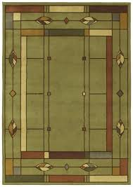 mission style rugs. Mission Style Area Rugs Creek Leaf Sage 08310 Machine Intended For Craftsman Ideas 16