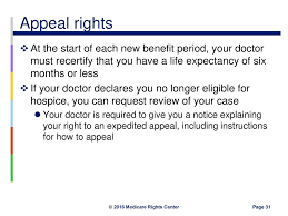 Hospice Benefit Period Chart Hospice What Consumers Should Know Ppt Download