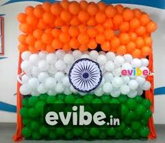 best balloon wall decor for independence day birthdays party decoration