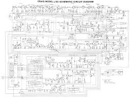 craig l102 schematic diagram