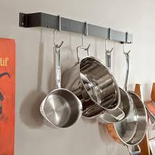 straight wall pot rack com