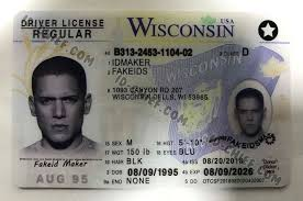 Cards Id-chief Fake Scannable Maker Wisconsin Id