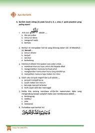 Evaluasi bab 4 ( iv ). Jawaban Pai Kls 8 Halaman127 Key