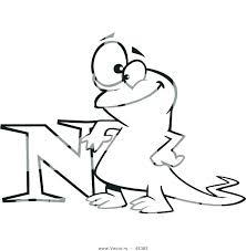 letter n coloring pages free letter for kindergarten kids coloring printable n for nest coloring page