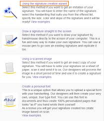 how to create online signature how to create a signature online infoblog