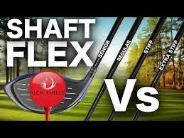 Driver Shaft Flex The Comparison Test Youtube