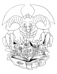 Dragon Skull Coloring Page Skull Coloring Pages For Adults