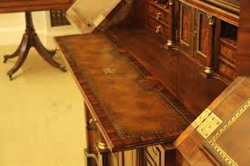 luxurious gany and rosewood secretary desk with over 45 drawers