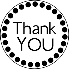 Thank You Black And White Printable Thank You Black And White Thank You Sentiments Images On