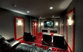 a showcase of really cool theater room