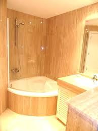 shower small bath shower combo bathtub amazing tub in bathroom 6 corner and combination showe