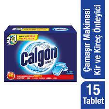 Calgon Çamaşır Makinesi Kireç Önleyici Tablet 15'li Fiyatı