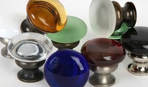 glass cabinet knobs. Mushroom Glass Knob Series Cabinet Knobs D