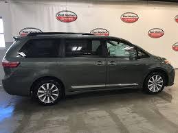 2018 New Toyota Sienna XLE AWD 7-Passenger at East Madison Toyota ...