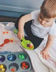 Đồ chơi trò chơi phát triển trí não cho trẻ 1 tuổi Wonder week 55 trong  2020 | Đồ chơi, Xà bông, Chó con