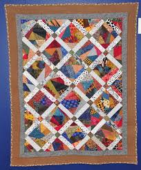 """Tutti Frutti"""", a crazy quilt by Iva Freeman. 2012 FAOF   Scrap quilts,  Crazy quilts, Quilts"""