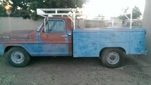 1972 Ford F250 360 V8 Gas Auto Pickup Truck utility bed for sale ...