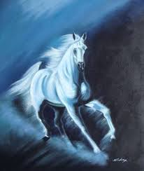 horse oil paintings galloping to freedom beautiful horse oil painting
