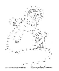 Small Picture Winter Theme Coloring Pages Dot to Dot Printables With a Winter