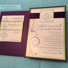 89 best disney wedding invitations images on pinterest disney Purple Disney Wedding Invitations custom swirls design wedding invitation reverse pocket style purple shimmer and lime green with glitter silver Elegant Wedding Invitations