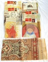 latch hook rug canvas 7 latch hook rug canvas instructions yarn wall hanging kit vintage lot latch hook rug