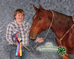 Clearfield County 4 H Members Participate In State Horse Show