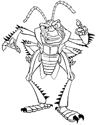 A Bugs Life Hopper Coloring Pages