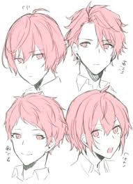 Girls can now adopt these hairstyles. Trendy Drawing Anime Hairstyles Boys Art Ideas Hairstyles Anime Art Boys Drawing Frisuren Hairstylesd Anime Drawings Tutorials Anime Boy Hair Anime Hair