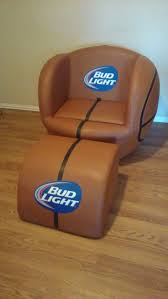 bud light basketball chair in good condition