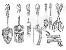 Silver Patterns Cool Birds And BambooJaponesque Sterling Silver Patterns Of The 48s