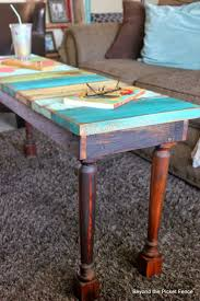 Wood Pallet Table Top Top 25 Best Reclaimed Wood Benches Ideas On Pinterest Diy Wood