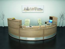 office receptionist desk. Curved Reception Desk Office Receptionist T