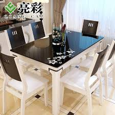 wood and marble dining table get ations a tempered glass dining table marble dining table dinette