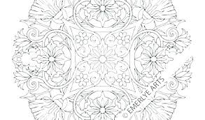 Mandala Printable Coloring Pages Printable Mandala Coloring Sheets