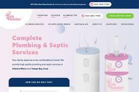 Pink Website Design 17 Best Plumbing Websites Design For Inspiration 2019 Colorlib