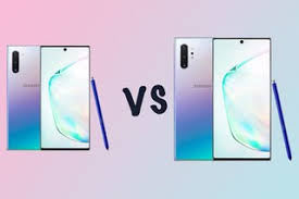 Samsung Note Comparison Chart Samsung Galaxy Note 10 Vs Note 10 Whats The Difference Po