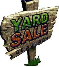 Image result for yard sale sign