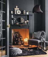 Oval Floating Shelves Inspiration Black Living Room Walls Faux Fireplace Black Suitcases Small Black