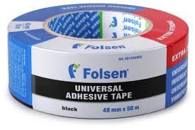 <b>Клейкая лента</b> универсальная <b>Folsen</b> 51044850, <b>48 мм</b> x 50 м ...