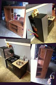Play Kitchen From Old Furniture 17 Best Images About Play Kitchens On Pinterest Stove Kids