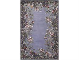kas rugs emerald lavender garden area rug kg9006
