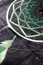 Dream Catcher Quilt Pattern Shape Moth 'Dreamcatcher' mini quilt WIP quilts Pinterest 21