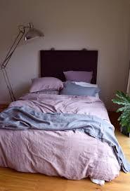 Faded Lilac Heavy Weight Natural Linen Duvet / Quilt cover & Faded Lilac Heavy weight Rustic linen quilt/duvet cover. Adamdwight.com